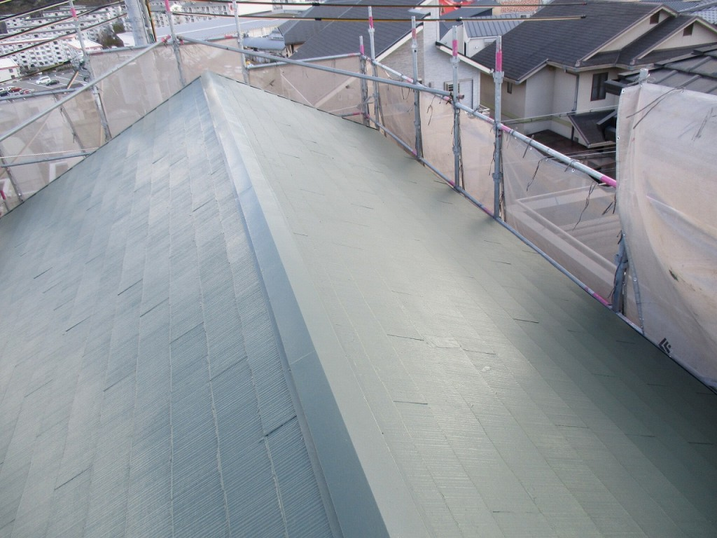 屋根完成6